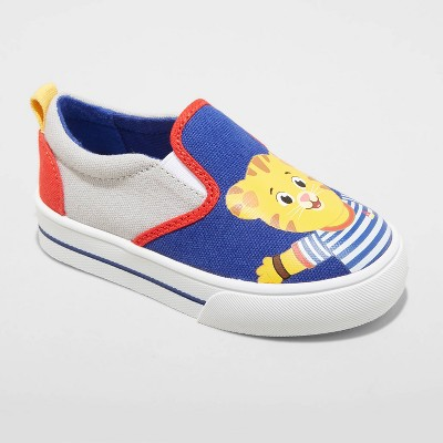 Toddler Boys' Daniel Tiger Apparel Sneakers - Gray