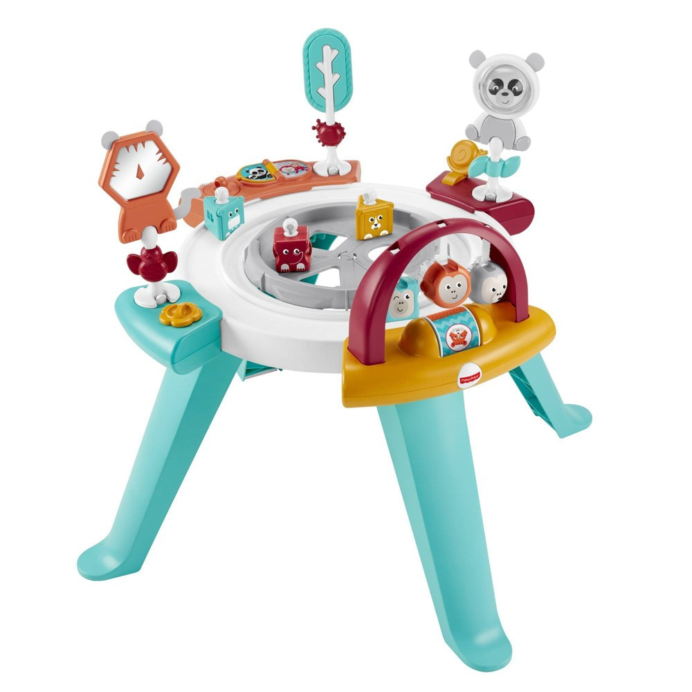 Image of Fisher-Price 3-in-1 Spin and Sort Activity Center