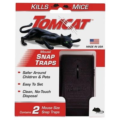 TomCat Mouse Traps Reusable - 2ct