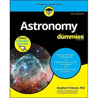Astronomy for Dummies - 4th Edition by  Stephen P Maran (Paperback)