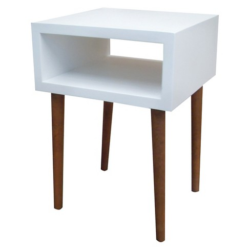 Mid Century Modern Accent Table White Room Essentials Target