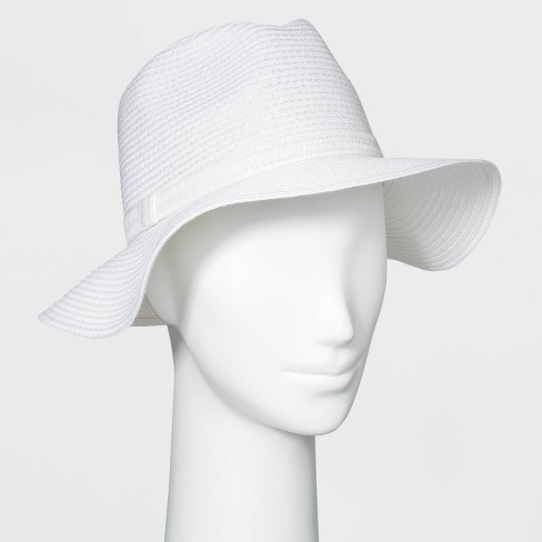 Women's Packable Essential Straw Panama Hat - A New Day™ - image 1 of 1