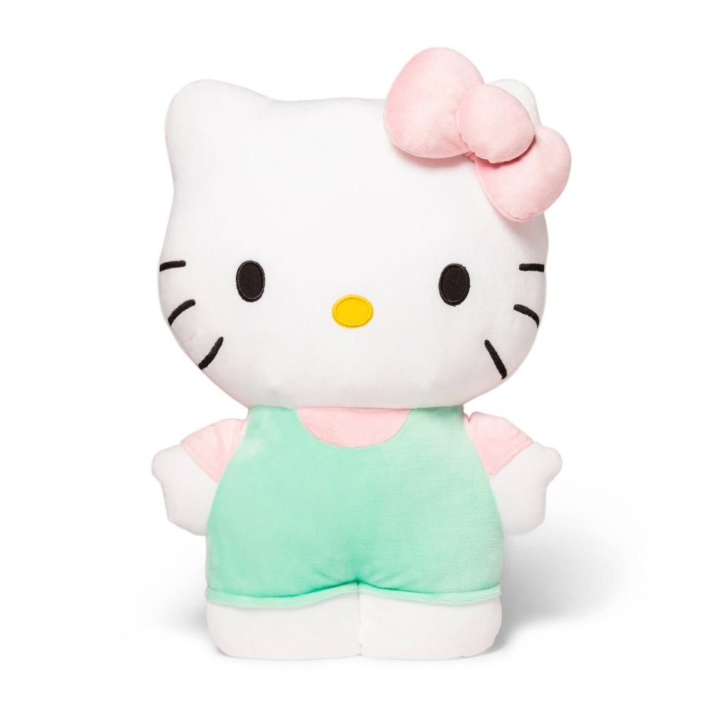 Image of Hello Kitty Pillow Buddy Black/White