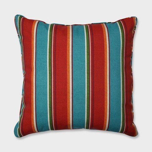 "25"" Sovaro Mesa Floor Pillow Blue - Pillow Perfect - image 1 of 1"