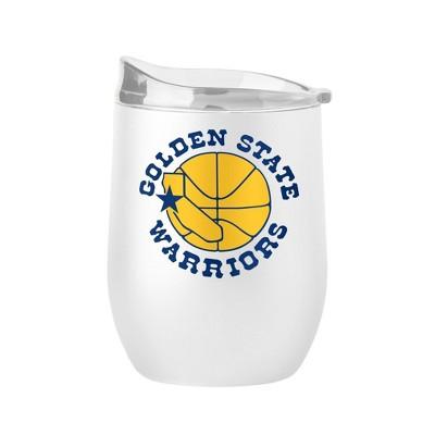 NBA Golden State Warriors 16oz Retro Wine Tumbler