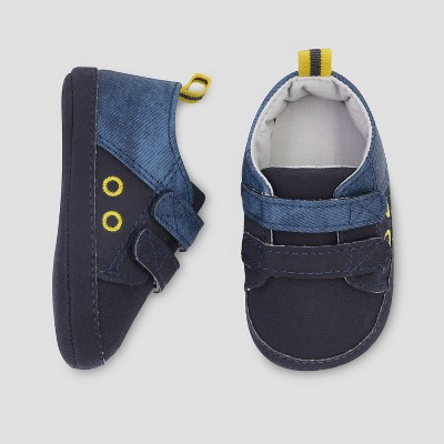 Baby Boys' Low Top Colorblock Sneaker - Just One You® made by carter's Blue 0-3M