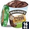 Ben & Jerry's Chocolate Fudge Brownie Non-Dairy Frozen Dessert - 16oz - image 2 of 4