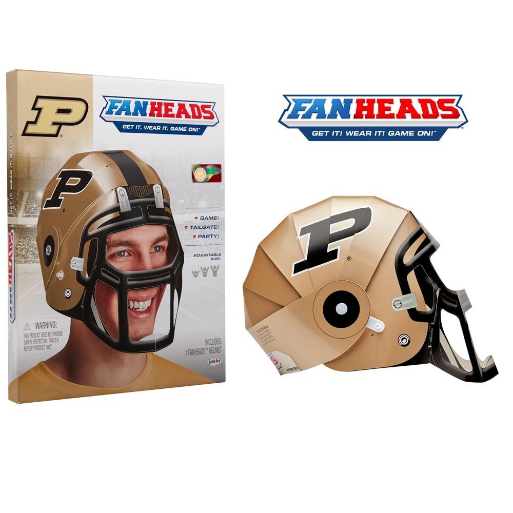 NCAA Purdue Boilermakers Fan Head, Adult Unisex