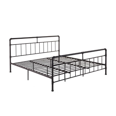 Mowry Industrial Iron Bed - Christopher Knight Home