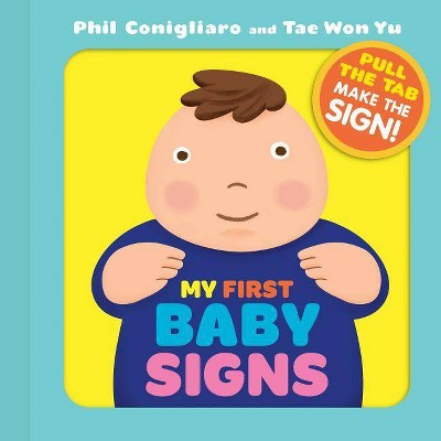 My First Baby Signs - (Board_book)