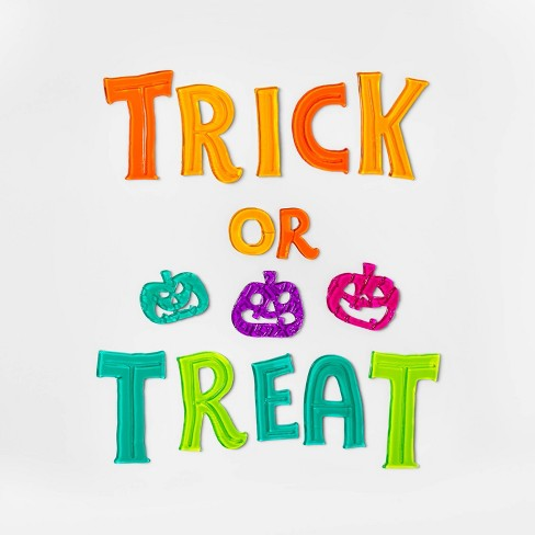 Trick-or-Treat Halloween Window Cling - Hyde & EEK! Boutique™ - image 1 of 1