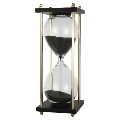 A&B Home Hour Glass In Stand (4X4X9 )