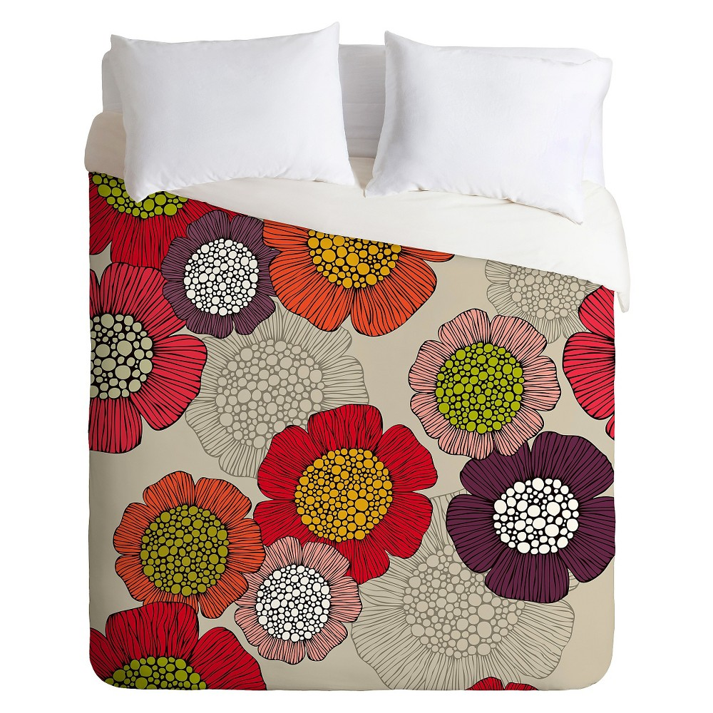 Valentina Ramos Spring Garden Duvet King Pink Deny Designs