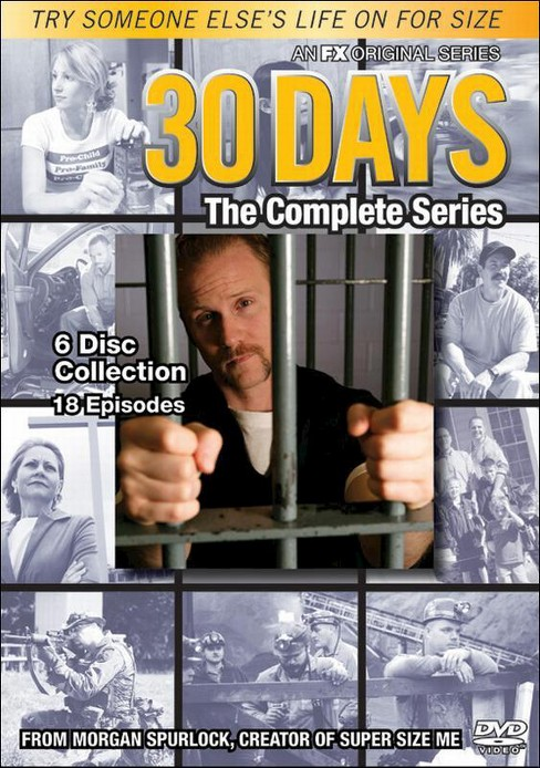 30 Days:Complete Series (DVD) - image 1 of 1