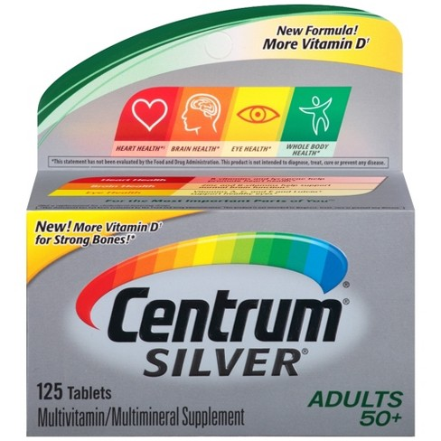 Centrum Silver Adult Multivitamin Dietary Supplement Tablets - image 1 of 5