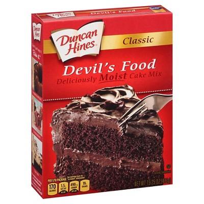 Duncan Hines® Devils Food Cake Mix - 16.5oz