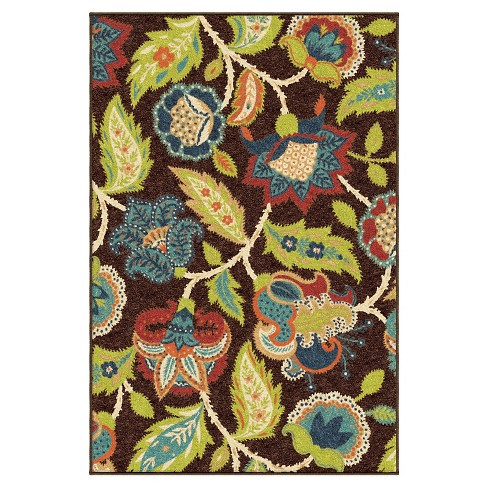 Orian Rugs Basil Promise Indoor/Outdoor Area Rug - Brown - image 1 of 5