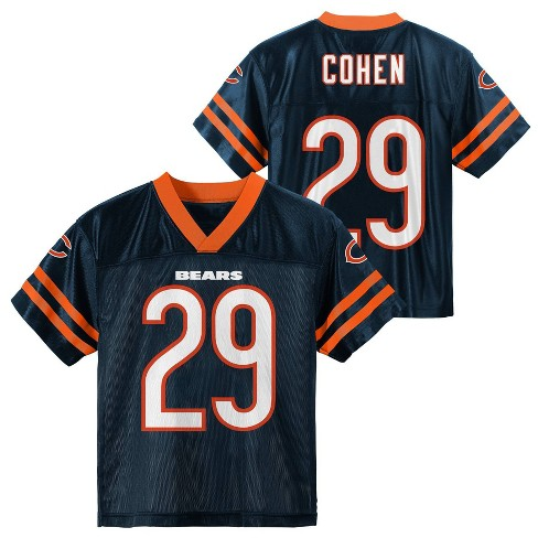 huge selection of ff0ba 0184b NFL Chicago Bears Boys' Cohen Tarik Jersey