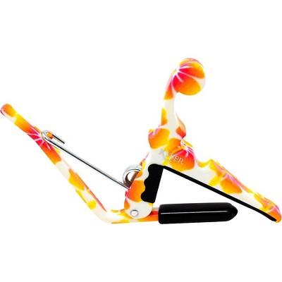 Kyser Quick-Change Ukulele Capo - Pastel Hibiscus