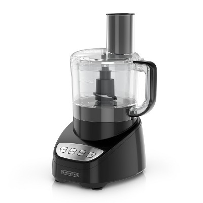 BLACK+DECKER 8 Cup Food Processor - Black FP4100B