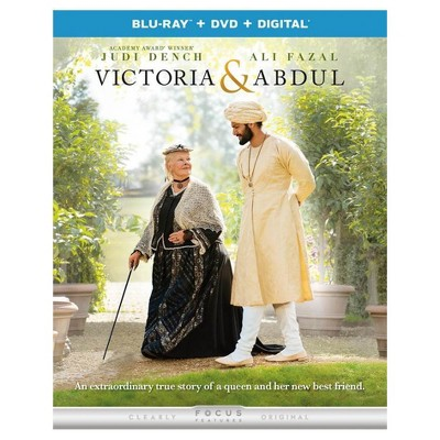 Victoria and Abdul (Blu-ray + DVD + Digital)