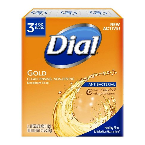 Dial Antibacterial Deodorant Gold Bar Soap - image 1 of 4