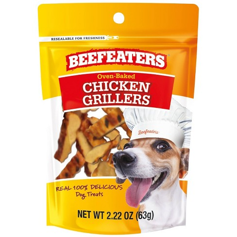 Beefeaters Chicken Grillers for Dog - 2.22oz - image 1 of 3