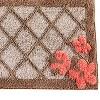 "20"" x 30"" Coral Gardens bath rugs and mats Tan - Saturday Knight Ltd. - image 2 of 2"