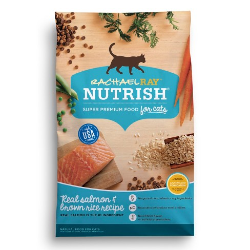 Rachael Ray Nutrish Natural Dry Cat Food  Salmon & Brown Rice Recipe - image 1 of 2