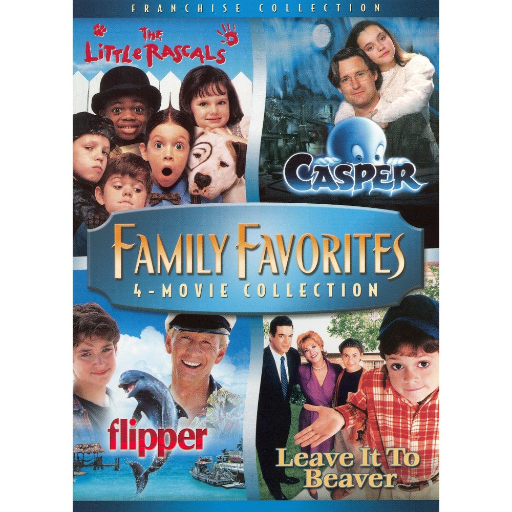 Family Favorites 4-Movie Collection [Widescreen] [2 Discs]