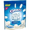 Oreo Thins Bites White Fudge Dipped Original Sandwich Cookies - 6.4oz - image 2 of 3