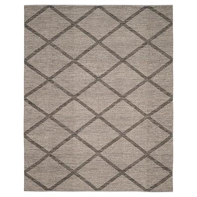 Black Geometric Flatweave Woven Area Rug - (5'X8')- Safavieh®