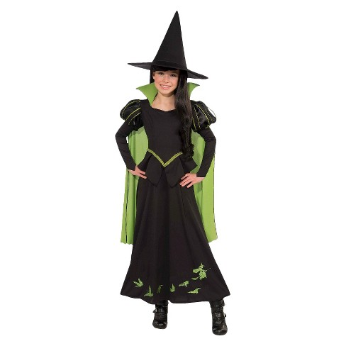 Wizard of Oz Kids' Wicked Witch Of The West Costume M(8-10) - image 1 of 1