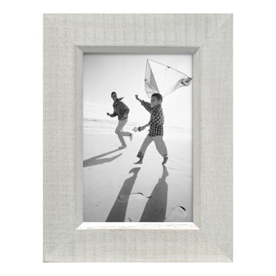 4  x 6  Frame Whitewashed Wood - Threshold™
