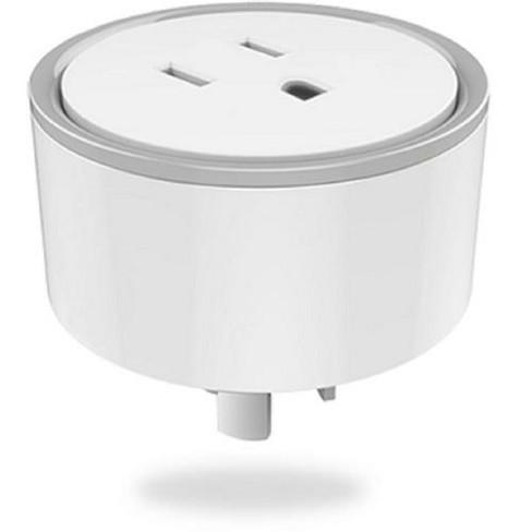 Eques Elf Compact Smart Plug, White/Cool Gray - image 1 of 4