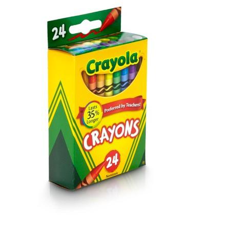 crayola crayons 24ct target