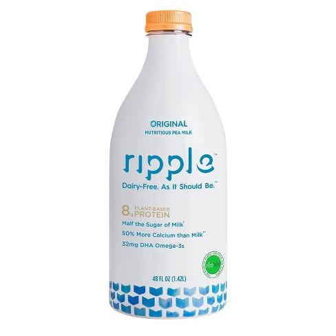 Ripple Dairy-Free Original Milk - 48 fl oz - image 1 of 3