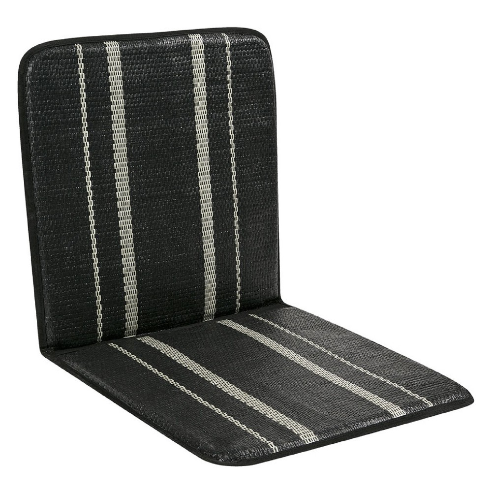 Image of Ventilated Standard Size Seat Cushion Black - Kool Kooshion