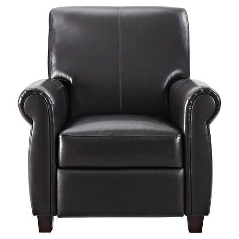 Outstanding Banner Pushback Recliner Espresso Dorel Living Creativecarmelina Interior Chair Design Creativecarmelinacom