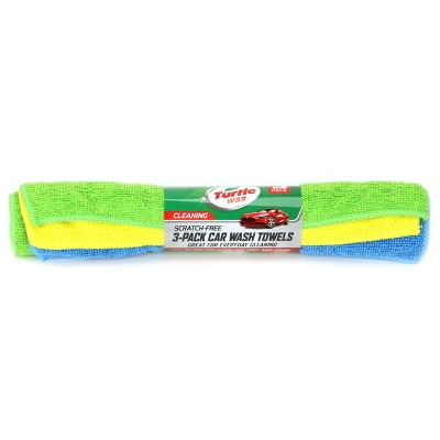 3pk 12 x2  Microfiber Towel Roll Yellow - Turtle Wax