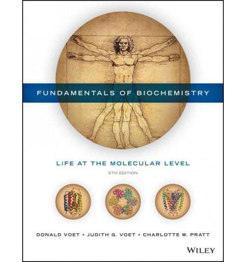Fundamentals of Biochemistry : Life at the Molecular Level (Hardcover) (Donald Voet & Judith G. Voet & - image 1 of 1