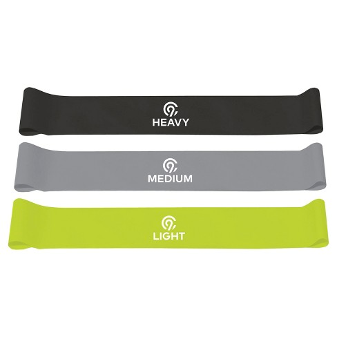 C9 Champion® Exercise Round Resistance Band 3pk (Light, Medium & Heavy) - image 1 of 3