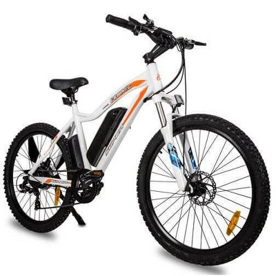 """Ecotric Leopard 26"""" Electric Road Bike - White"""
