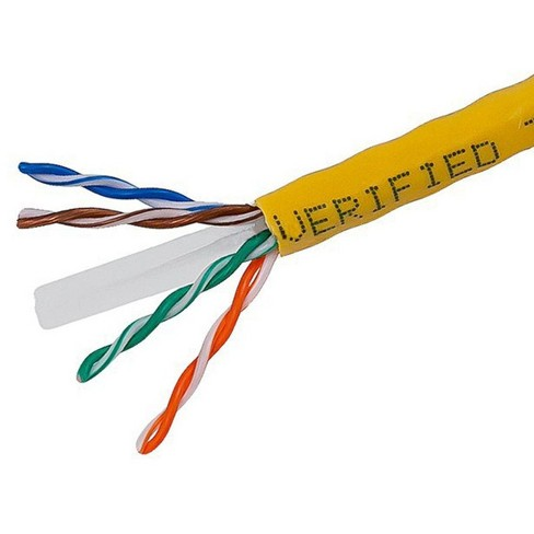 Belkin CAT6 1000-Foot Solid Bulk Cable Red