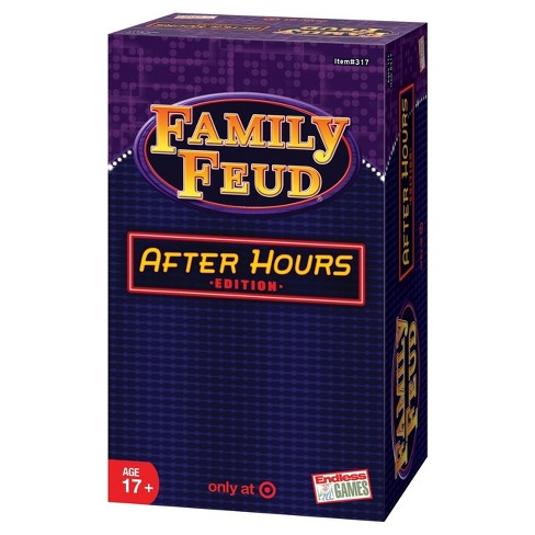 Family Feud After Hours Board Game - image 1 of 3