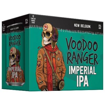 New Belgium Voodoo Ranger Imperial IPA Beer - 12pk/12 fl oz Cans