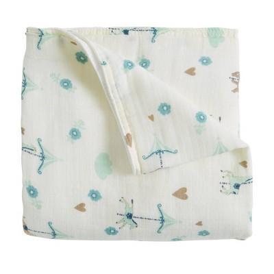 Patina Vie Muslin Quilt Blanket Carousel
