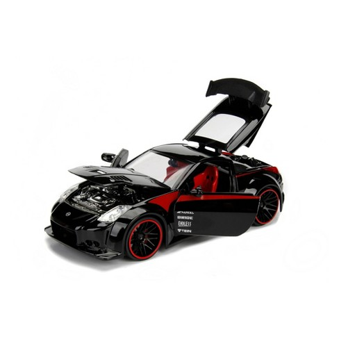 Jada Toys JDM Tuners 2003 Nissan 350Z Die-Cast Vehicle 1:24 Scale Glossy Black - image 1 of 4