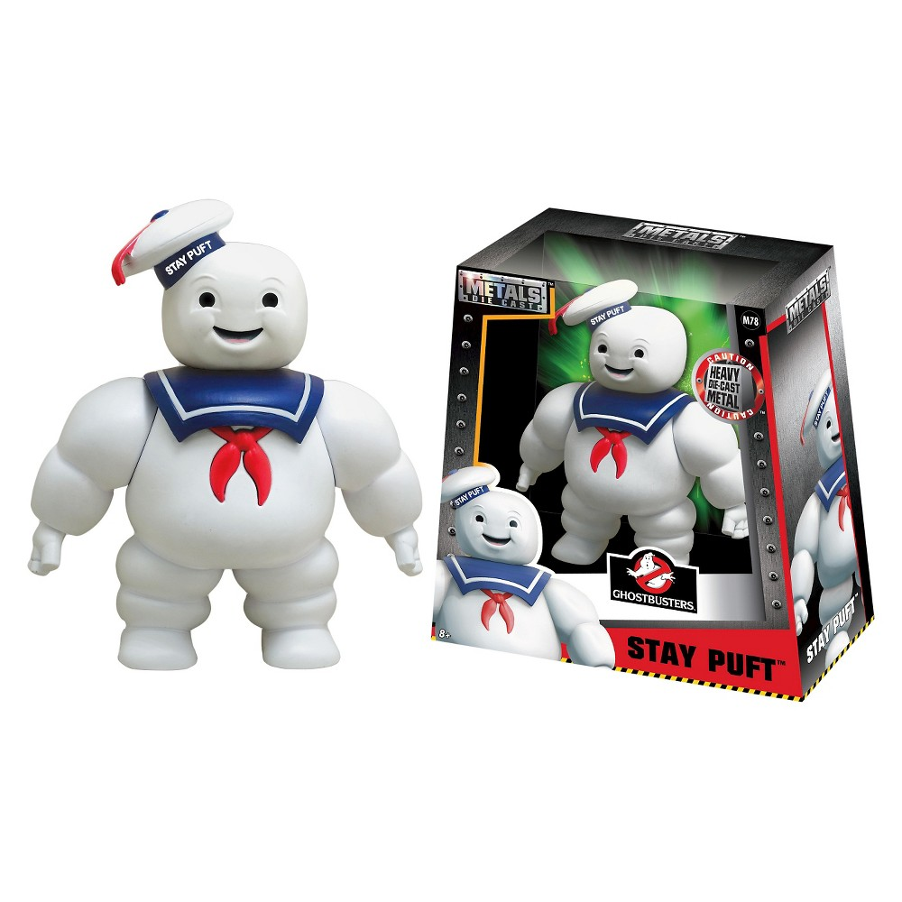 Metals - 6 figures - Ghostbusters - Stay Puft - M78