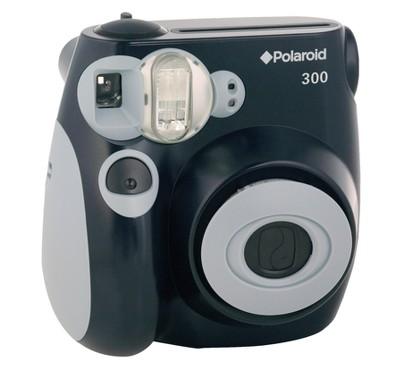 Polaroid PIC-300 Instant Camera - Black